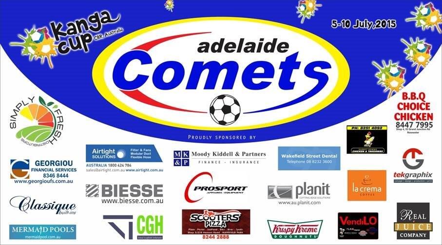 ADELAIDE U12 COMETS