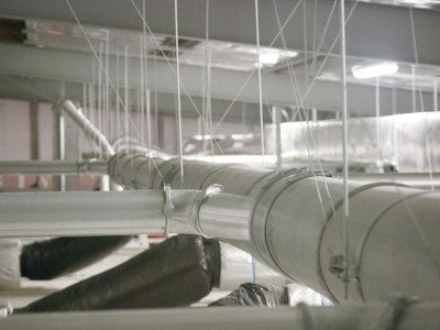 Galvanised Steel Modular ducting systems for dust extraction 3