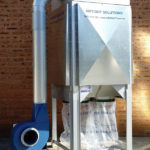 T-500 dust collector with outdoor kit fitted 2