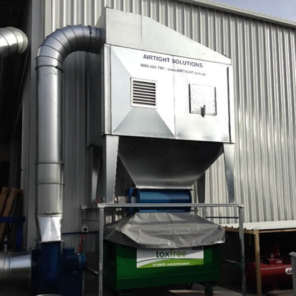 Airtight Solutions Productst1000 11 15kw Dust Collection System Airtight Solutions