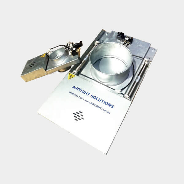 slide dampers automatic