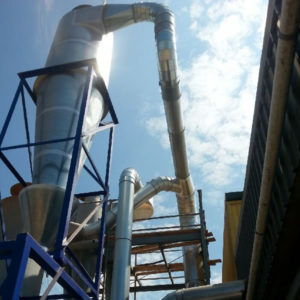 Dust extraction Cyclone 1250diameter