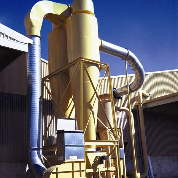 JNL Dust extraction system cyclone