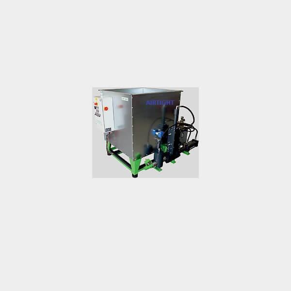 Airtight compact briguette