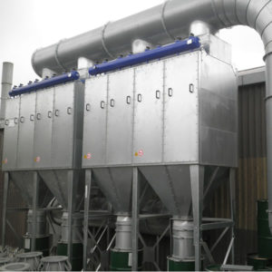 FMC Cartridge dust collector for hendriks sandblast 2012-02-13 10