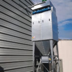 FMC Dust collector at extend life natural products