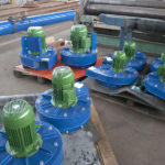 Small fans for use on the APB dust collector range